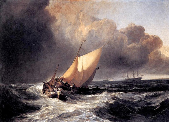 dutch-boats-in-a-gale