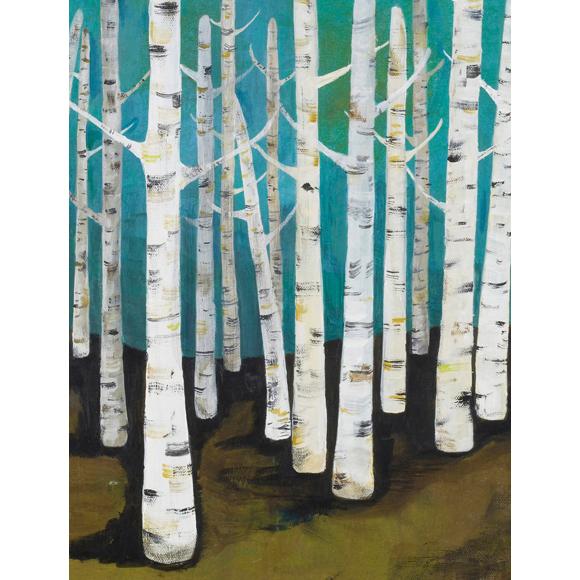 Lisa Congdon Birch Trees